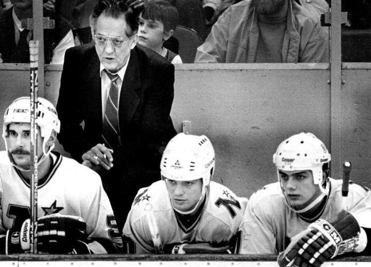 Glen Sonmor Glen Sonmor 86 a Brawling NHL Coach The New York Times