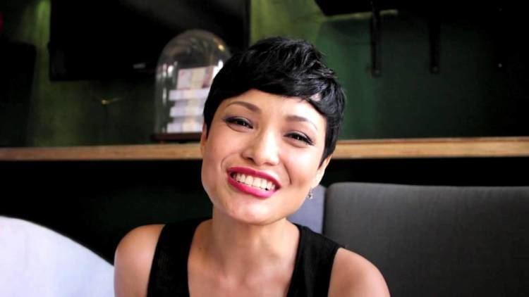Glenda Chong smiling and wearing black top
