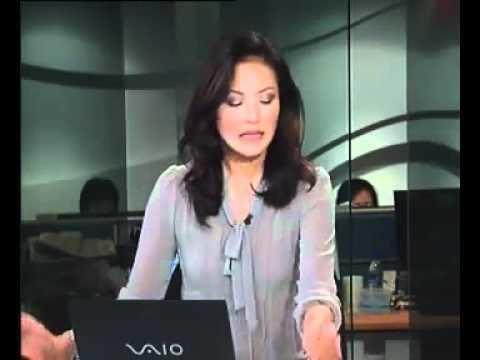 Glenda Chong wearing blue blouse