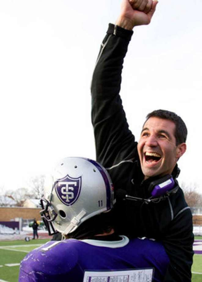 Glenn Caruso Greenwich native Glenn Caruso a finalist for DIII football coach of