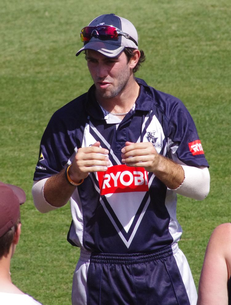 Glenn Maxwell (Cricketer) playing cricket
