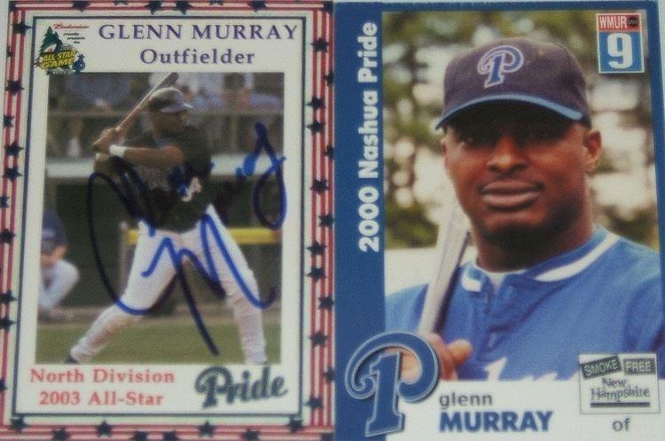 Glenn Murray (baseball) Atlantic League Baseball Autographs Glenn Murray 1999 Atlantic
