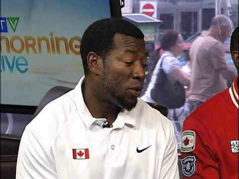 Glenroy Gilbert Canadian Olympic 4X100 Relay Team YouTube
