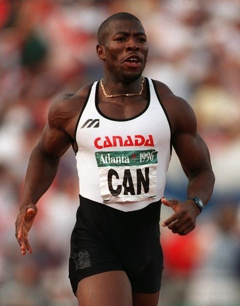 Glenroy Gilbert ARCHIVED Image Display Canadian Olympians Library
