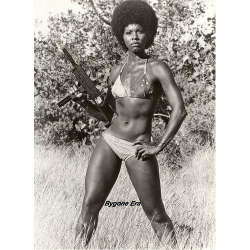 Gloria Hendry Flashback To 1973 Gloria Hendry Makes History As The Fi