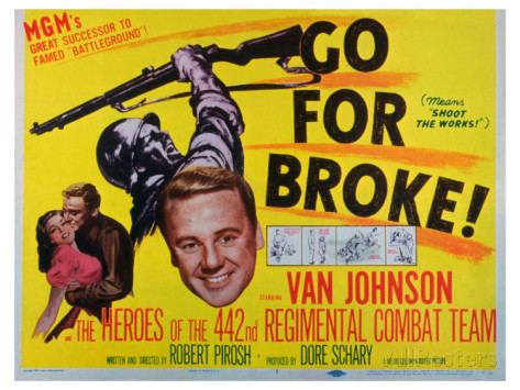 Go for Broke! (1951 film) Movie Monday Double Feature Only the Brave 2006 and Go For Broke