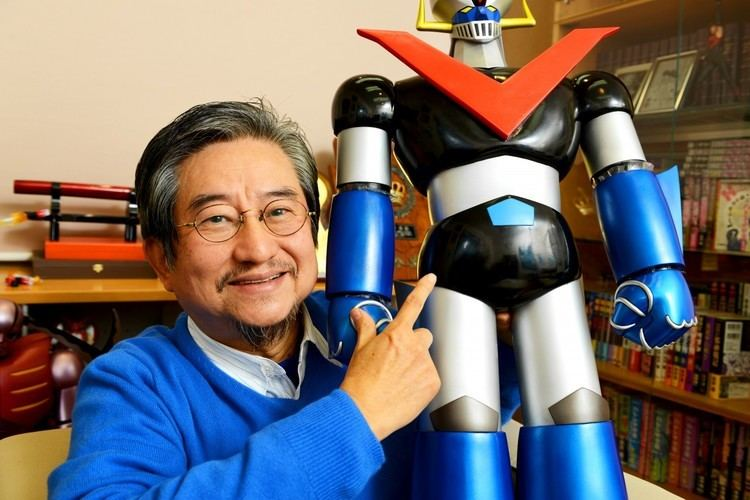 Go Nagai Go Nagai sensei Interview Manga is the artist39s own