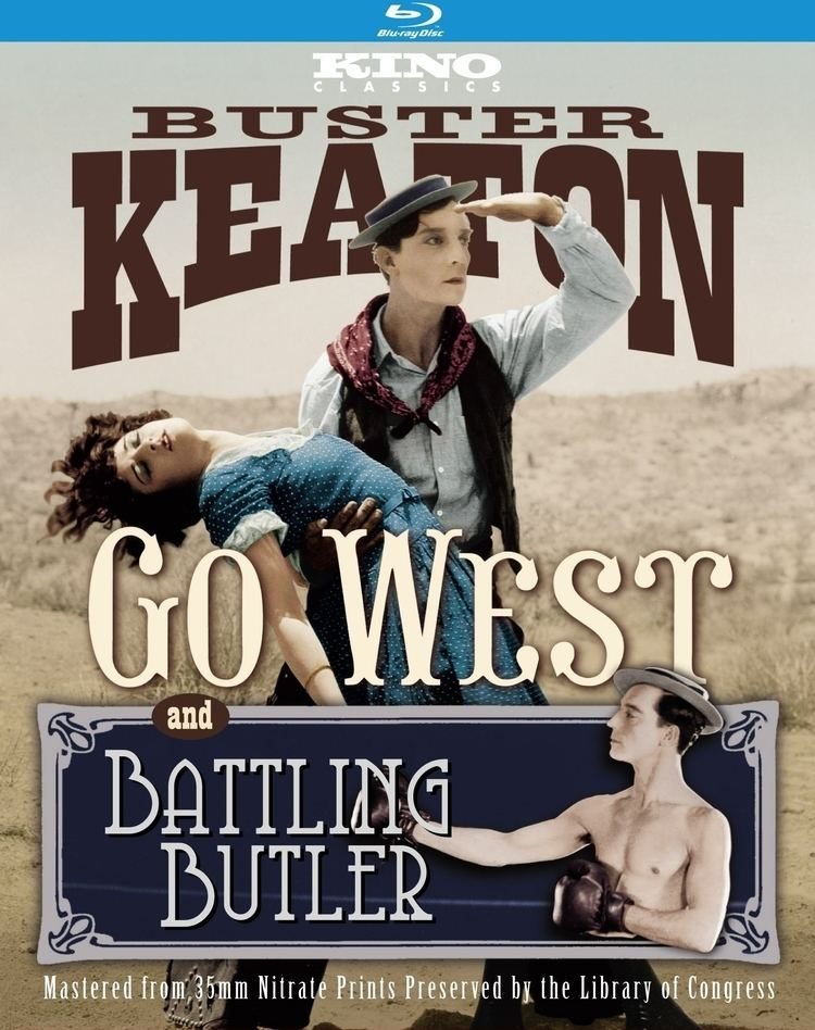 Go West (1925 film) Go West Battling Butler Bluray