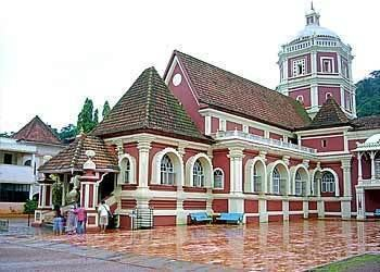 Goan temple Mangeshi Temple Goa India Attractions IndiaLine Travel