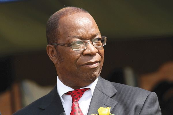 Godfrey Chidyausiku BREAKINGFormer Chief Justice Godfrey Chidyausiku dies