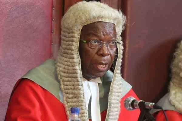 Godfrey Chidyausiku Godfrey Chidyausiku dies NewsDay Zimbabwe