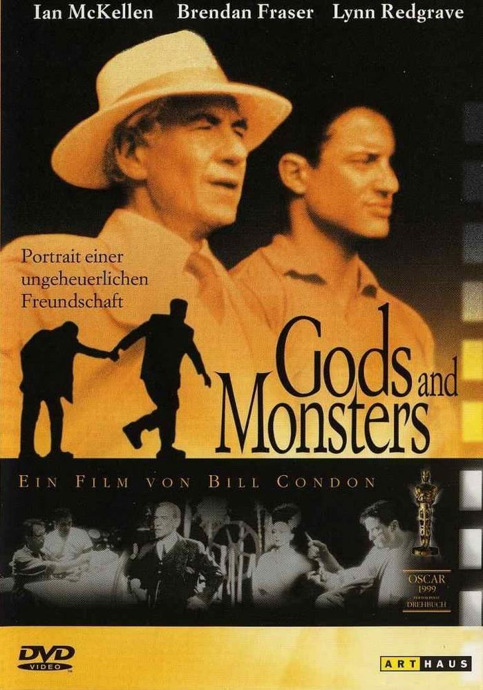 Gods and Monsters (film) Empires 5star 500 My Movie Reviews 186 Gods and Monsters 1998
