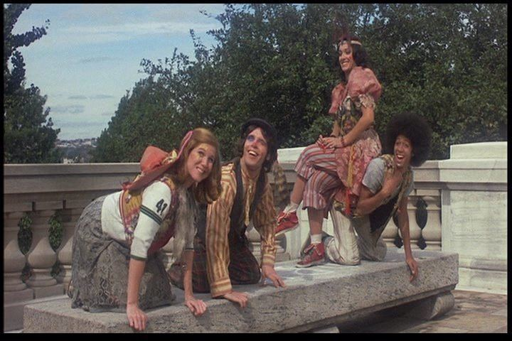 Godspell (film) Bible Films Blog emGodspellem 1973 Scene Guide