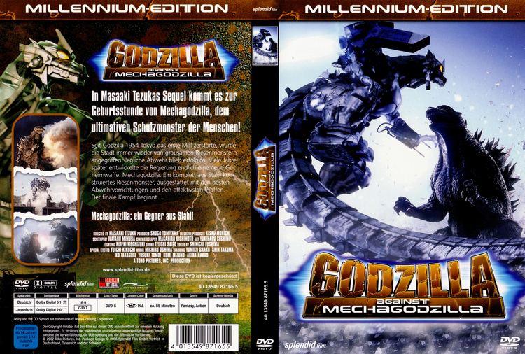 Godzilla Against Mechagodzilla Godzilla Against MechaGodzilla dvd cover 2002 R2 German