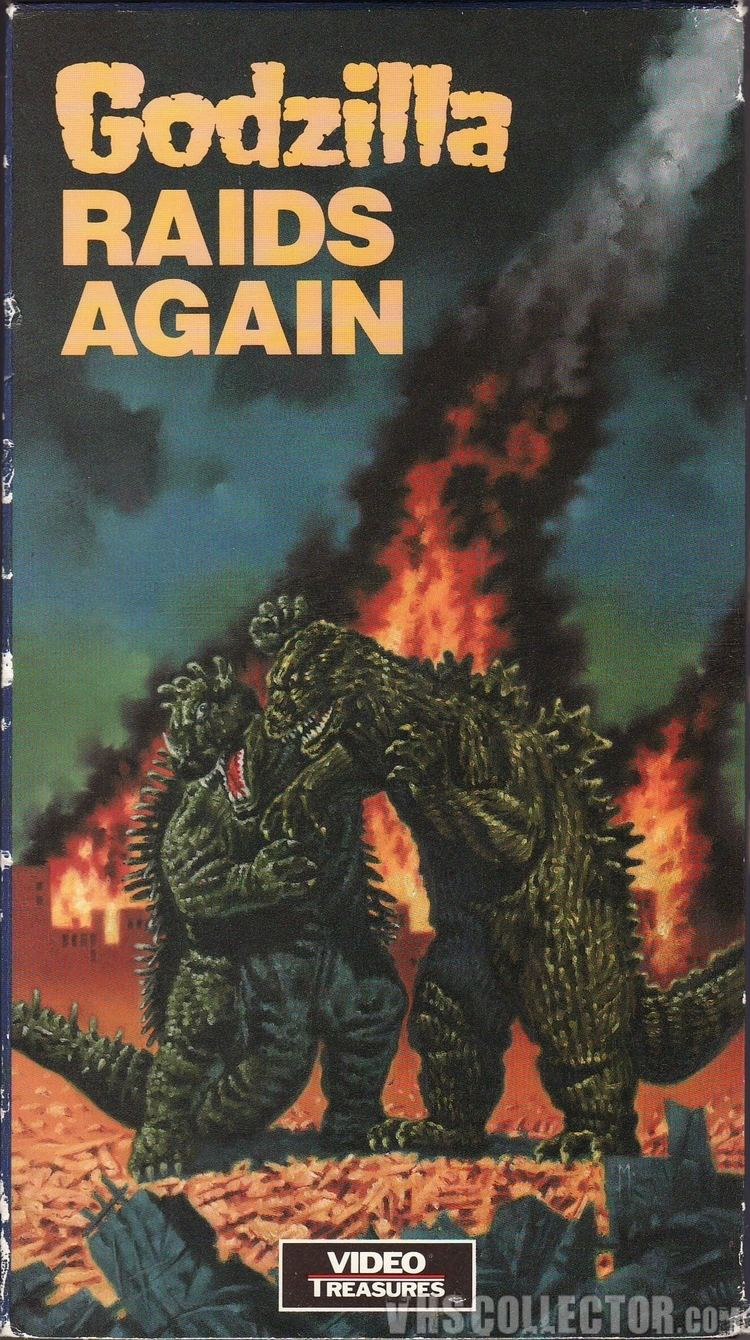 Godzilla Raids Again Godzilla Raids Again VHSCollectorcom Your Analog Videotape Archive