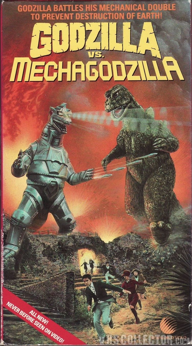 Godzilla vs. Mechagodzilla Godzilla vs Mechagodzilla VHSCollectorcom Your Analog