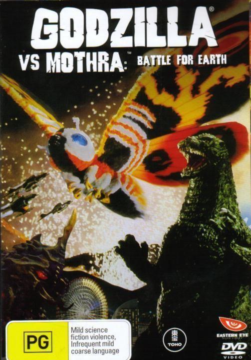 Godzilla vs. Mothra Godzilla vs Mothra Gojira tai Mosura 1992