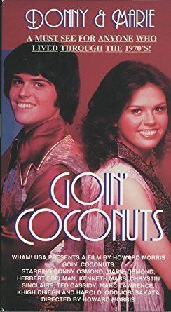Goin' Coconuts Amazoncom Goin Coconuts VHS Donny Osmond Marie Osmond Herb