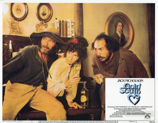 Goin' South Goin South Lobby card with Jack Nicholson Mary Steenburgen