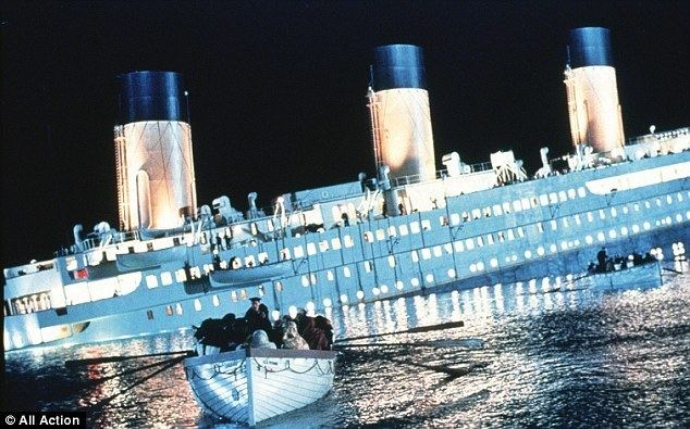 Going! Going! Gosh! movie scenes Going down A scene from the 1998 film Titanic
