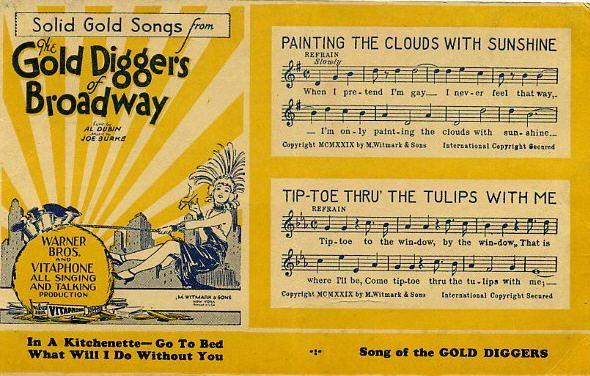 Gold Diggers of Broadway Nick Lucas Gold Diggers of Broadway