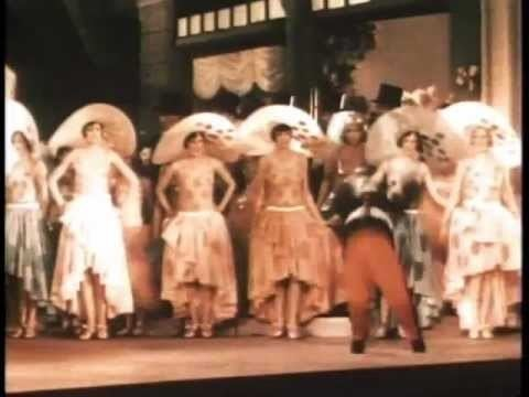Gold Diggers of Broadway Scenes from Gold Diggers of Broadway 1929 Lost color musical