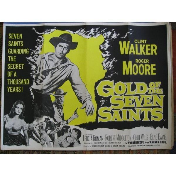 Gold of the Seven Saints Gold of the Seven Saints 1961 Original British Quad