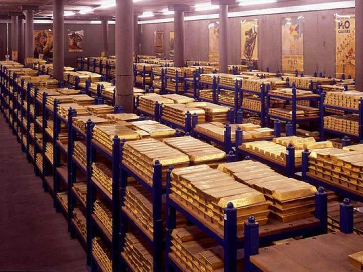 Gold reserve 10 Enormous Gold Reserves Business Insider
