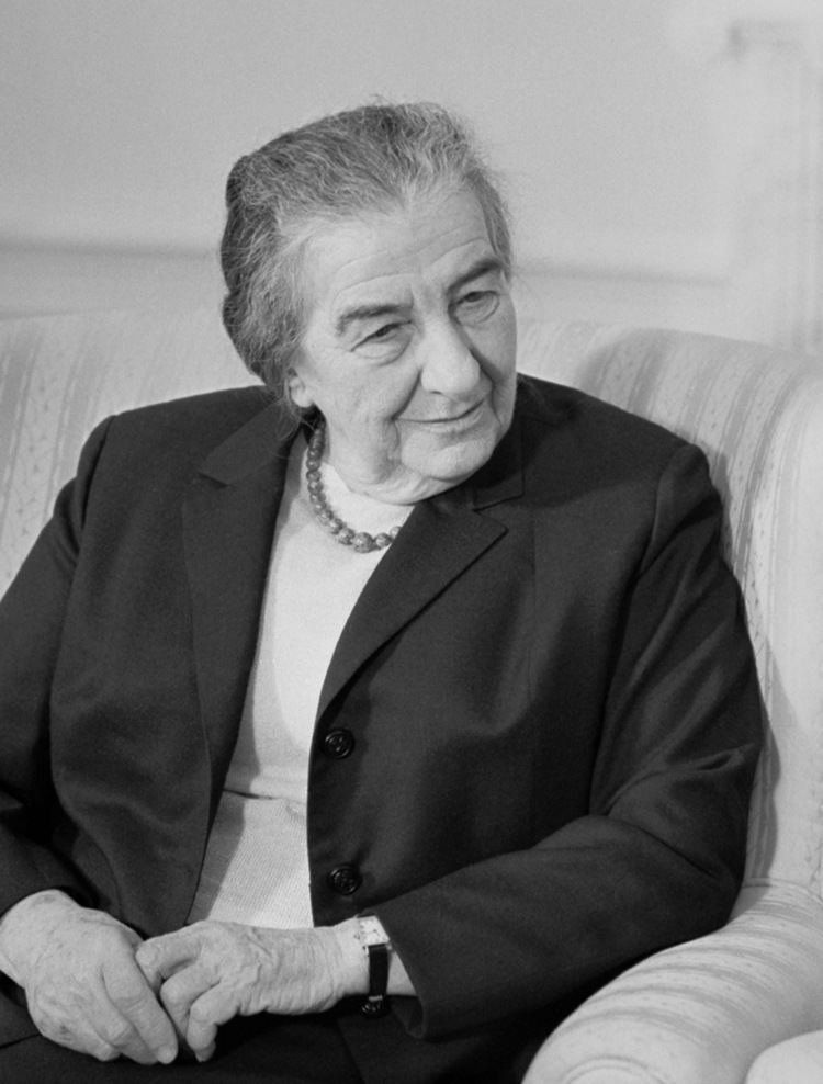 Golda Meir Golda Meir Wikipedia the free encyclopedia