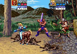 Golden Axe: The Revenge of Death Adder Golden Axe The Revenge Of Death Adder Videogame by Sega