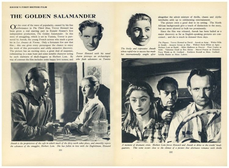 Golden Salamander (film) Golden Salamander Treasure and Death in Tunisia Cinema Sojourns