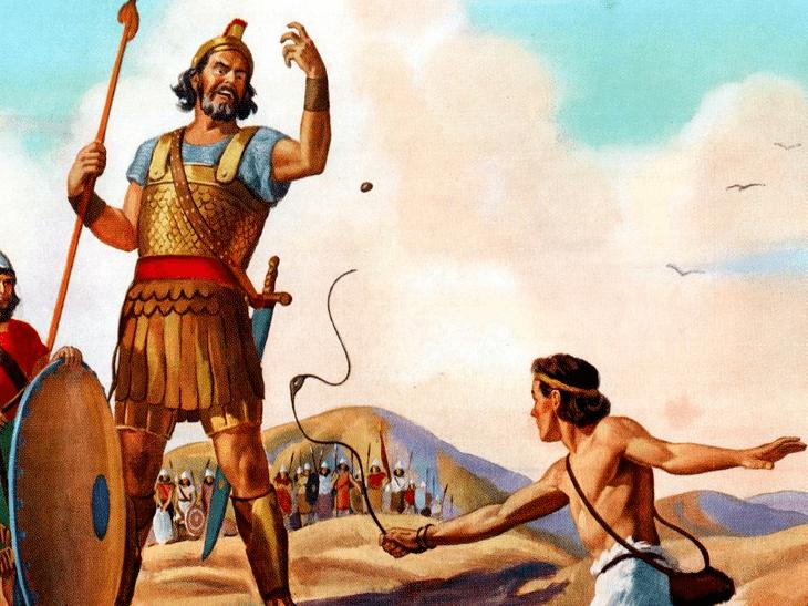 Goliath Malcolm Gladwell Goliath Was The Underdog Not David Business Insider