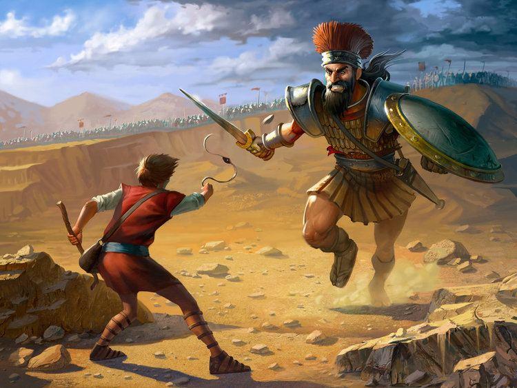 Goliath David and Goliath by ErikBragalyan on DeviantArt