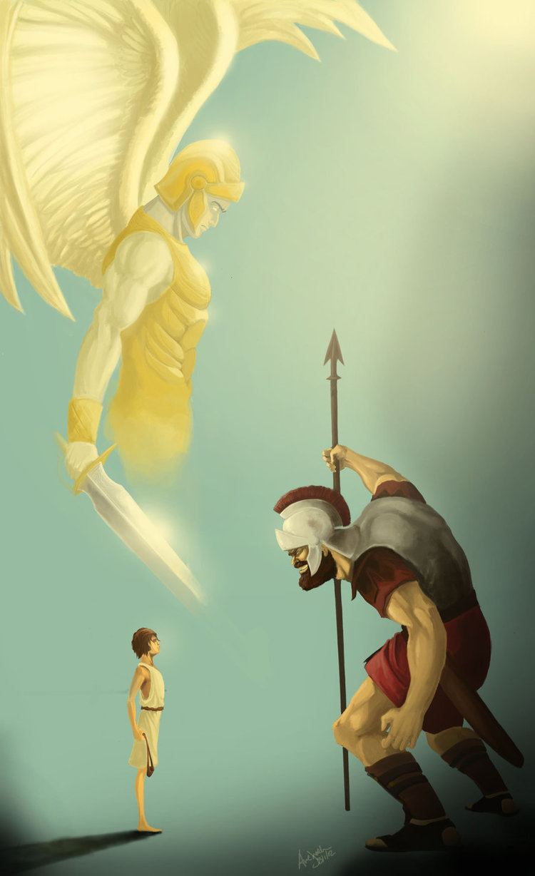 Goliath David and Goliath by awalker010 on DeviantArt