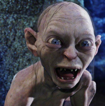 Gollum Narcissistic traits in Gollum in the Lord of the Rings The Faces