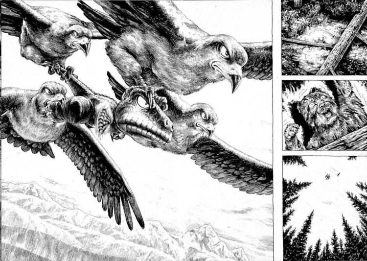 Gon (manga) Ben Towle Beautiful pages from the first issue of Masashi