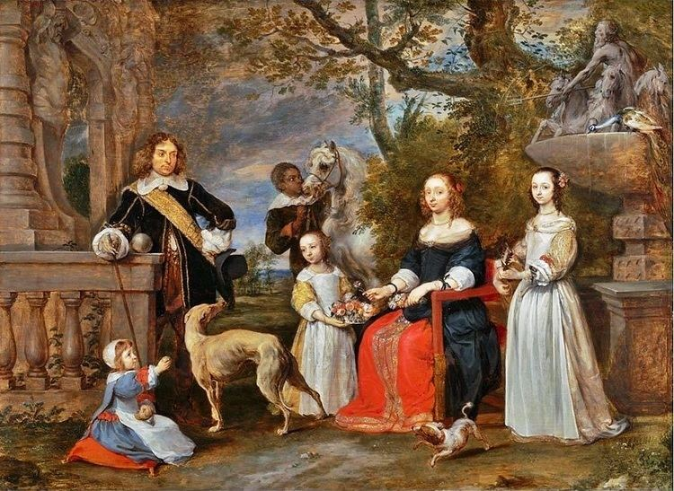 Gonzales Coques It39s About Time On the Garden Terrace 17C Families by