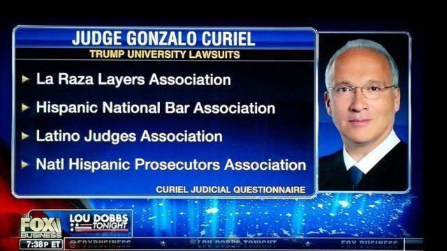 Gonzalo P. Curiel La Raza Judge Gonzalo Curiel and the Hispanic National Bar