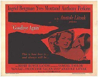 Goodbye Again (1961 film) movie poster