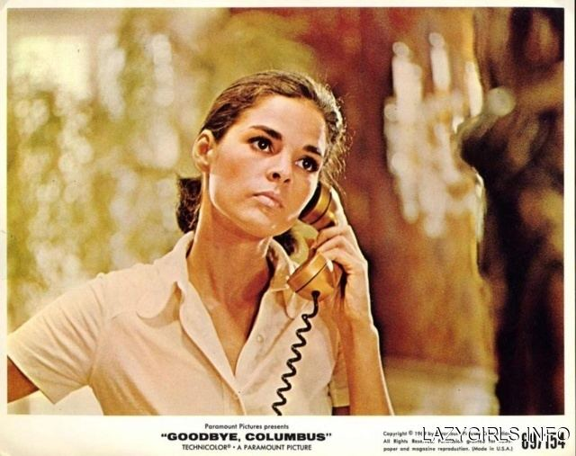 Goodbye, Columbus (film) Ali MacGraw Muses Cinematic Women The Red List