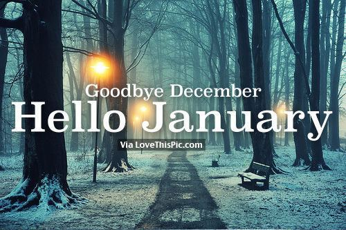 Goodbye December Goodbye December Hello January Pictures Photos and Images for
