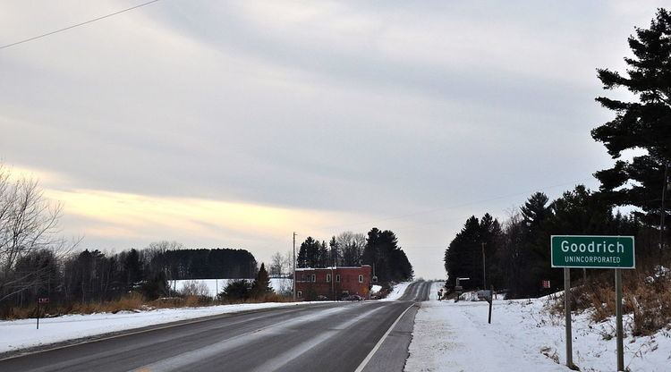Goodrich (community), Wisconsin