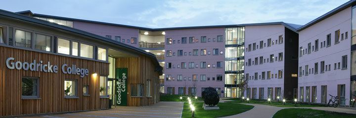 Goodricke College, York Goodricke College Goodricke College The University of York