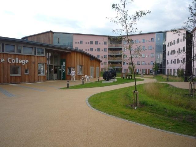 Goodricke College, York Goodricke College reception C DS Pugh Geograph Britain and Ireland