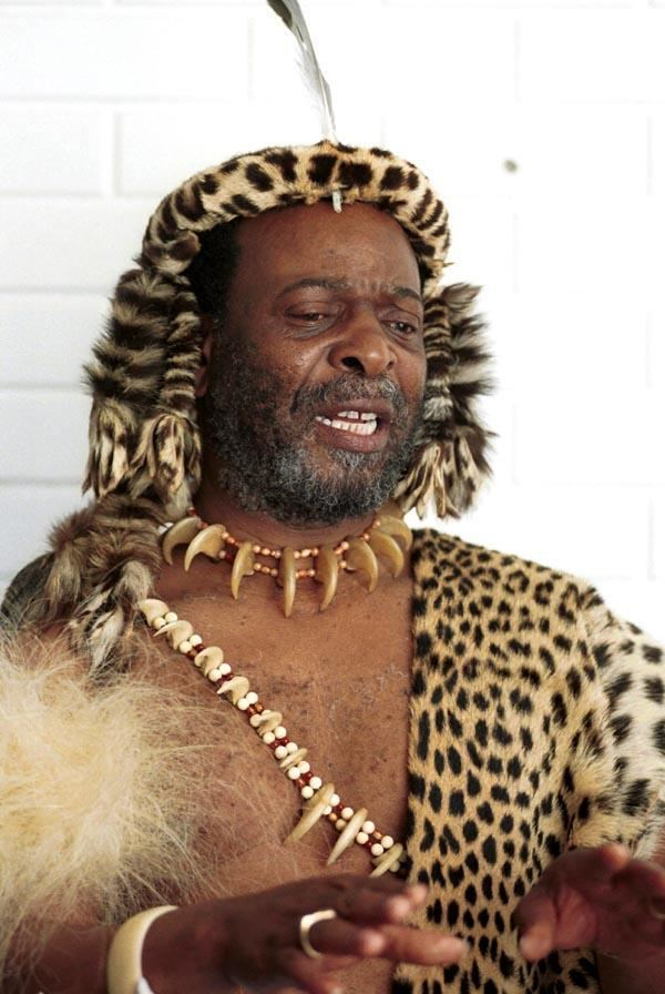 Goodwill Zwelithini kaBhekuzulu King Goodwill Zwelithini King of the Zulu