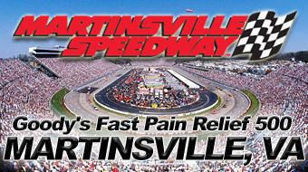 Goody's Fast Relief 500 2017 STP Gas Booster 500 betting odds Martinsville Speedway