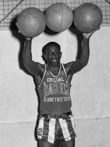 Goose Tatum Basketball Harlem Globetrotters Reece Goose Tatum