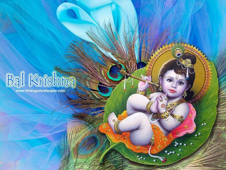 Gopal (Krishna) Free Code Projects Bal Gopal Shri Krishna Desktop Background l Lord
