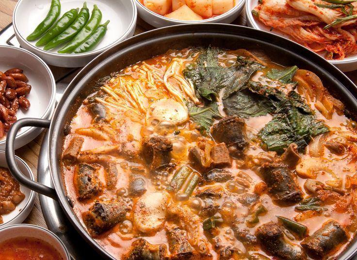 Gopchang-jeongol Korean Food Gopchang Jeongol Beef Intestine amp Tripe Stew Korea