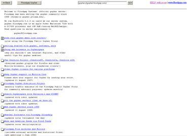 Gopher (protocol) httpsuploadwikimediaorgwikipediaen888Flo